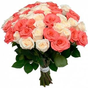 Розы Эквадор микс 4