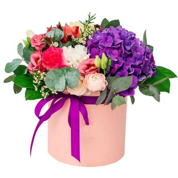 """Цветы в коробке """"Симфония"""""""